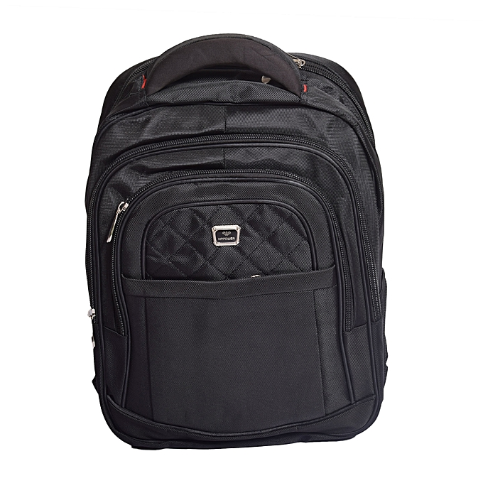 Generic Laptop Bag   Urban Travel Laptop Backpack Bag - Black   Best ... 8c539fce65fd3