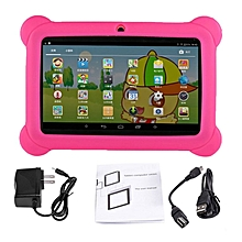 7 inch Screen Children Tablets 2G+16G A33 Quad Core for Android 4.4 Tablet PC pink