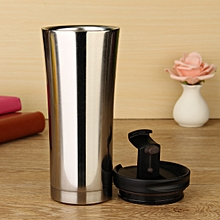 YKPuii 500ml Double Wall Stainless Steel Coffee Milk Mug Vacuum Cup Insulation Thermal Flask Thermocup Tumbler Water Bottle