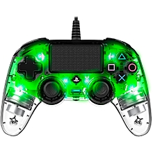 PS4 Accessory Compact Controller Nacon Clear Green