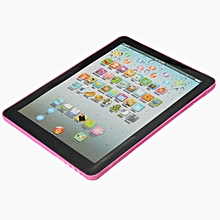 Pad For Kid Child Learning English Educational Computer Mini Tablet Teach Toy Y Pink