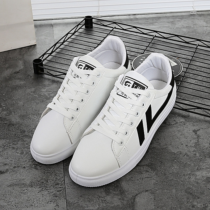 47f33e8695 Classic Canvas Sneakers Shoes Men Casual Shoes Comfortable Round Toe Lace-up  Flat Shoes -