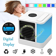 Portable Evaporative Air Cooler Fan USB Indoor Cooling Humidifier Conditioner