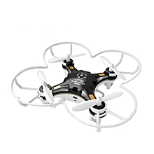 FQ777-124 Pocket Drone 4CH 6Axis Gyro Drone Quadcopter With Switchable Controller  RTF-Black