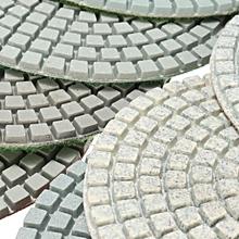 9PCS Wet Dry 4'' Diamond Polishing Pad Discs Set For Granite Marble Polish New