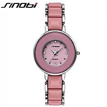 womens watch dress imitated ceramic ladies luxury fashion bracelet watches with fine steel strap relogio feminino l08
