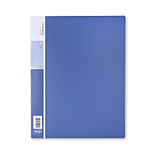 5002 A4 Display Book with 20 Pages - Blue