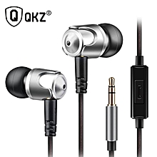 DM4 s Dynamic With Mic Microphone Hybrid Unit HIFI Earphone Earbud Headset xYx-S