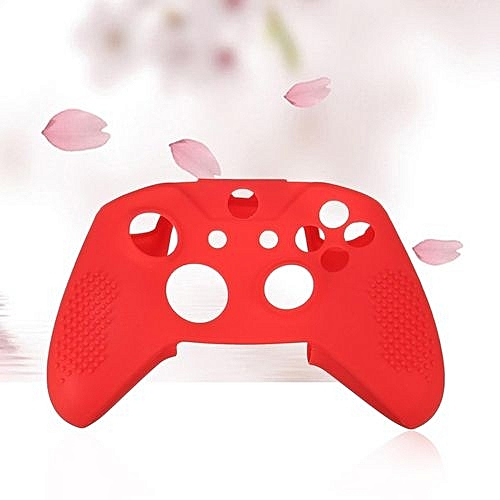 Silicone Case Cover For Xbox One S Red