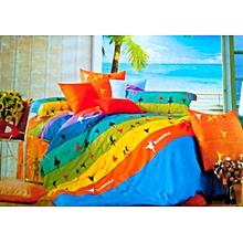 Duvet Cover Set - 6 x 6 Multicoloured-6 pieces