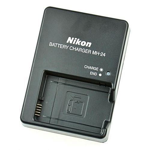 MH-24 Nikon Charger for EN-EL14 Battery Black