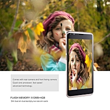 EY S8 Lightweight 5.0 Inch IPS Screen 512MB RAM 4GB ROM 3G Phone For Android 5.1-gold