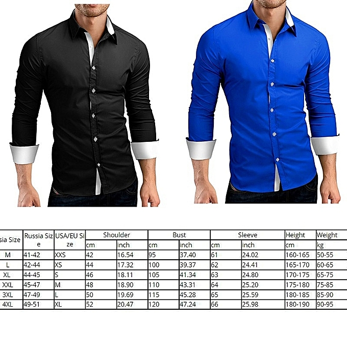 4facde29002 Generic Large Size Men s Long Sleeves Shirt   Best Price