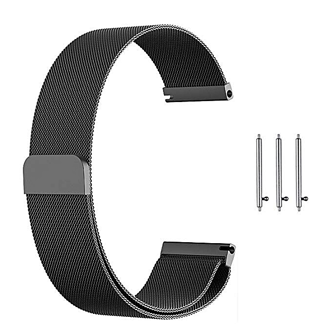 ... Compatible Gear S3 Band,Galaxy Watch (46mm) Bands,22mm Milanese Loop Stainless ...