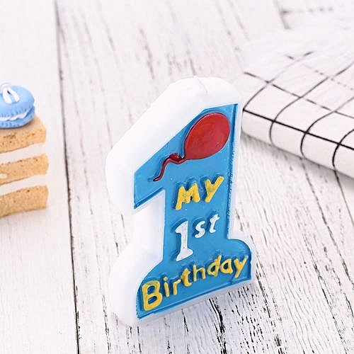 Candle Cake Topper Birthday Candles Baking For Baby Anniversary Decoration