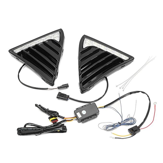 Buy Generic Pair Led Daytime Running Light Drl Lamp Turn Signal For