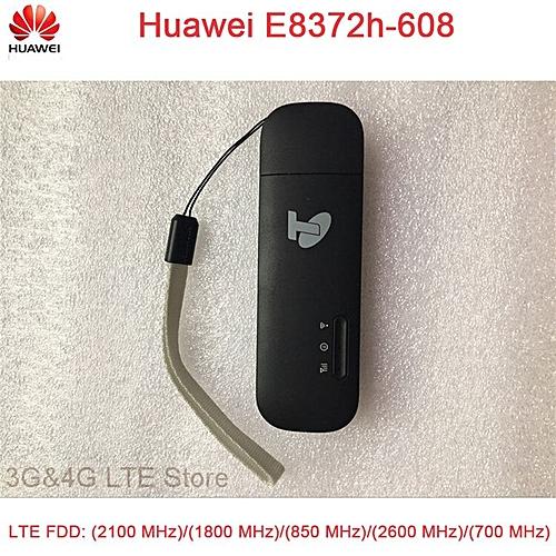 Generic Unlock Huawei E8372 E8372h-608 black color LTE USB 4G USB
