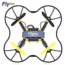T11 DIY Building Blocks RC Quadcopter 2.4G 4CH Aircraft