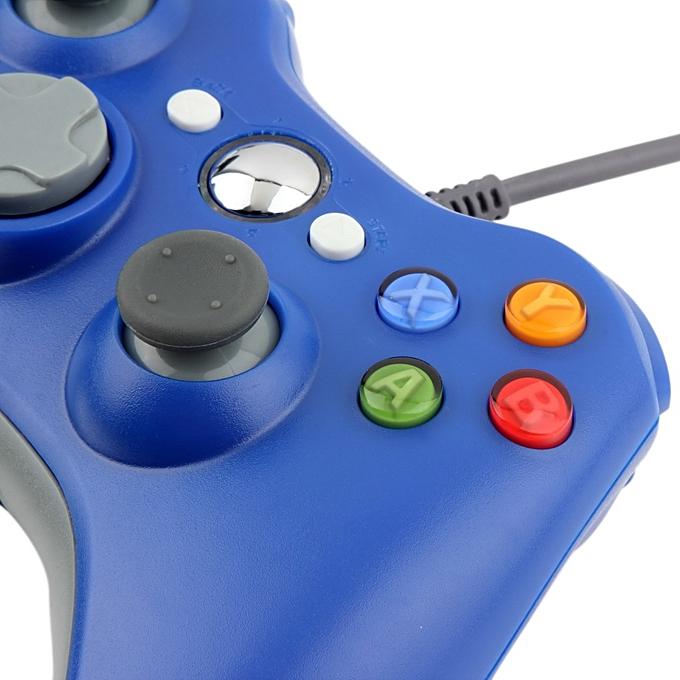 ... USB Wired Joypad Gamepad Controller For Microsoft Xbox & Slim 360 PC Windows 7