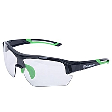 Outdoor Sports Windproof UV Protective Mountain Bike Cycling Glasses (Green)