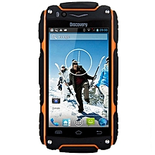 4.0 inch  V8 Android 4.4 3G Smartphone MTK6572 1.0GHz Dual Core WiFi GPS Waterproof Dustproof Shockproof 4GB ROM-ORANGE