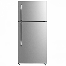 RF/298- Double Door No Frost Fridge - 7Cu.Ft - 511 Liters- Silver