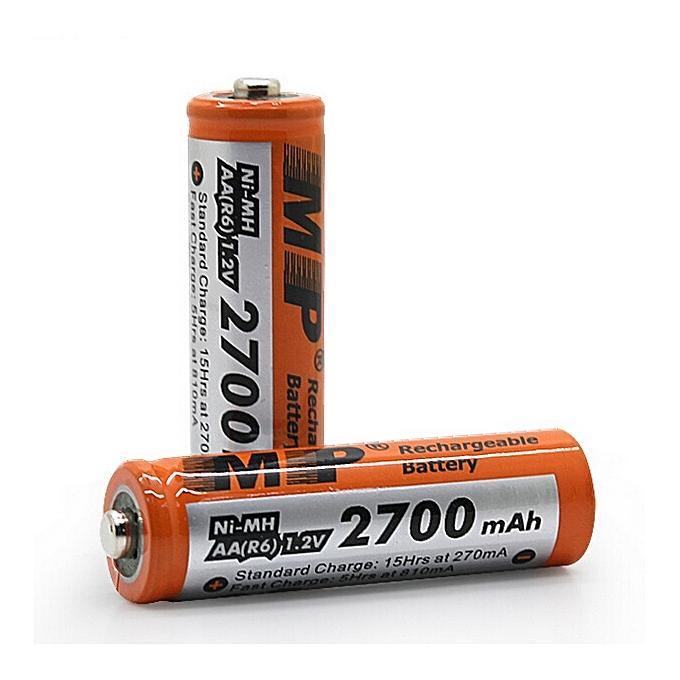 4pcs/lot Original rechargeable battery GP 2700 mAh ni mh 1