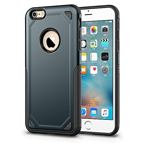 outlet store 02237 4b672 Case For for iphone 6 Plus Slim Heavy Duty Drop Resistant Protection Dual  Layer Armor Cover Secure Grip Cell Phone Case For for iphone 6S Plus