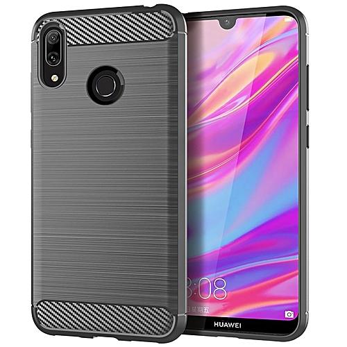 newest 08b47 c6d91 HUAWEI Y7 Prime 2019 Case, Rugged case,Soft TPU material