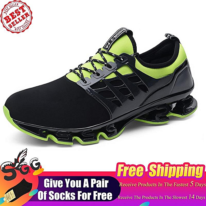 Free Shipping 2019 Men and Women Casual Walking Sneakers Slip on Blade Outdoor Sport Shoes(