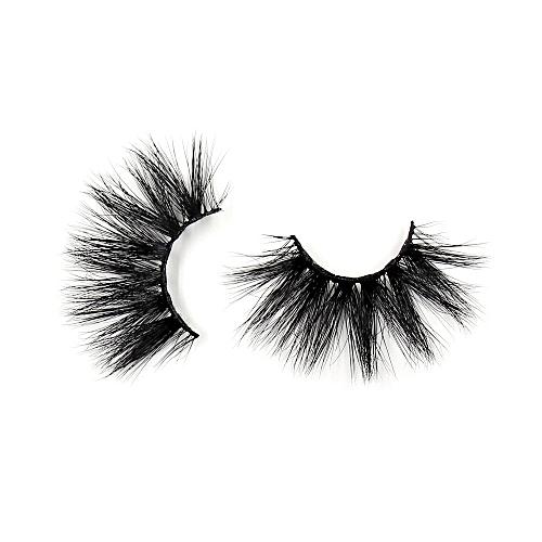 bd190c2d877 Generic Eyelashes 3D Mink False EyeLuxury Large Criss-cross False Eyelashes  25mm Hand Made Fluffy Dramatic Lashes Makeup(G06)