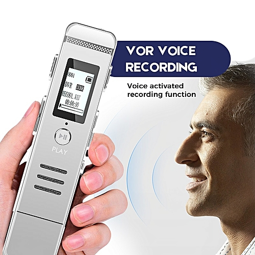 USB Mp3 Hifi Recorder Dictaphone VOR Voice Recording Mini Registrar Hidden  Sound Microphone Stereo Sound Recording DSP Chip KSIWN