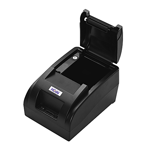 HOIN High Quality Portable 58mm Wireless BT Direct Thermal Receipt Printer  with USB Cable Support Voice Broadcast ESC/POS Print Commands Compatible