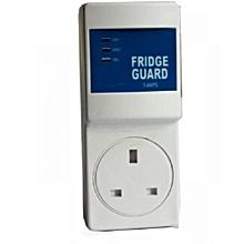 Fridge Guard With Voltage Stabilizer- White.