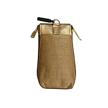 Alluring Embroidered Mobile Cover - Gold 2