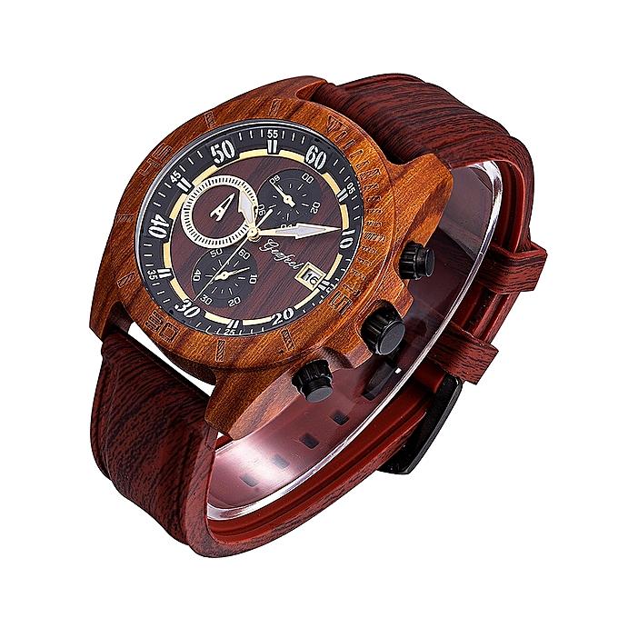 639ce19089e GEZFEEL Waterproof Sport Watch Chronograph Date Clock Silica Gel Strap  Wrist Retro Watch Multifunction Luminous Quartz