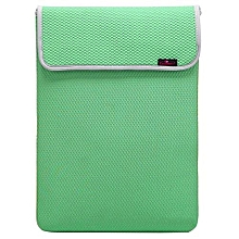 Bluelans Waterproof Laptop Sleeve Case Carry Bag Cover For 15.6 Notebook Apple Green