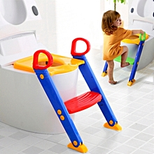 Toddler Toilet Ladder - 24 x 15 x 15 inches - Multicoloured
