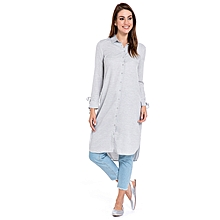 Grey Fashionable Tunic