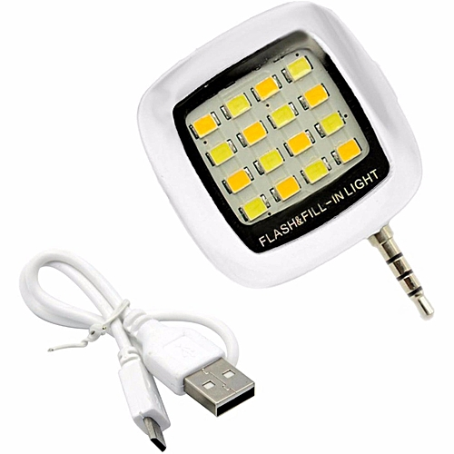 Phone Flash Portable Phone Selfie Mini 16 Led Flash Fill Light For Smartphone Cell Phone Adapter Accessories Cellphones & Telecommunications