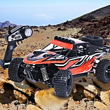 G18-3 1:18 2.4G Four-Wheel Drive High Speed Off Road Remote Control Car-Red