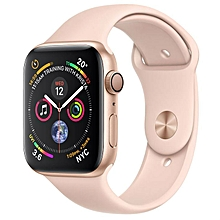 Watch Series 4 GPS - 40mm  Gold Aluminum Case with Pink Sand Sport Band - MU682