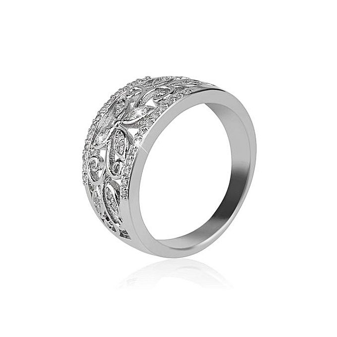 Special Simulated Crystal Unique Ring Women Metal Alloy