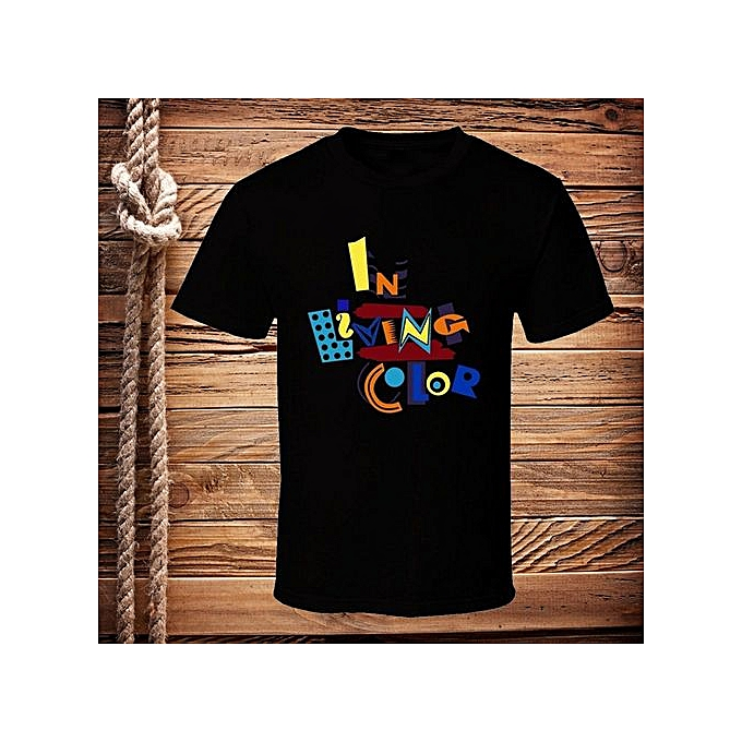 073873bab Fashion Summer New Brand T Shirt Men Hip Hop Men T-shirt Casual Fitness In  Living Color 90s Tv Show T Shirt