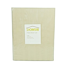 Fitted Bed Sheet - Twin - 120cm x 200cm - Stone Stripe
