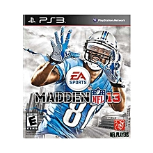 PS3 Game Madden NFL 13