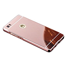 Mirror Protective Shell Case For HuaWei P8 Lite - Rose Gold