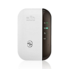 Wireless 300Mbps WIFI Router WiFi Signal Amplifier Enhancer WIFI Repeater-Black & White