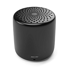 JAKCOM CS2 Mini Bluetooth Speaker Smart Carryon with Remote Control Selfie Microphone-Black WWD