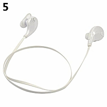 Stereo Wireless Earphone Sport Bluetooth For IPhone Cell Phone White